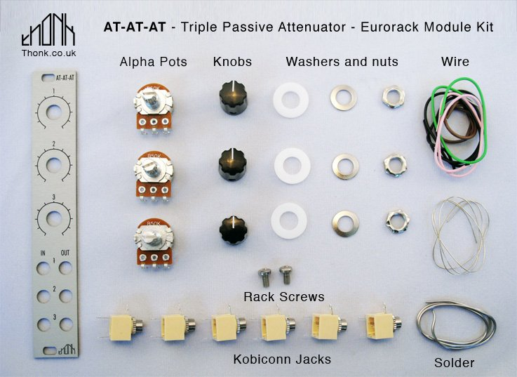 MUFF WIGGLER :: View topic - The Easiest DIY Kit in Eurorack