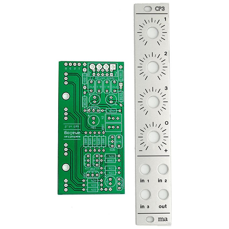 Manhattan Analog CP3 Mixer PCB+Panel