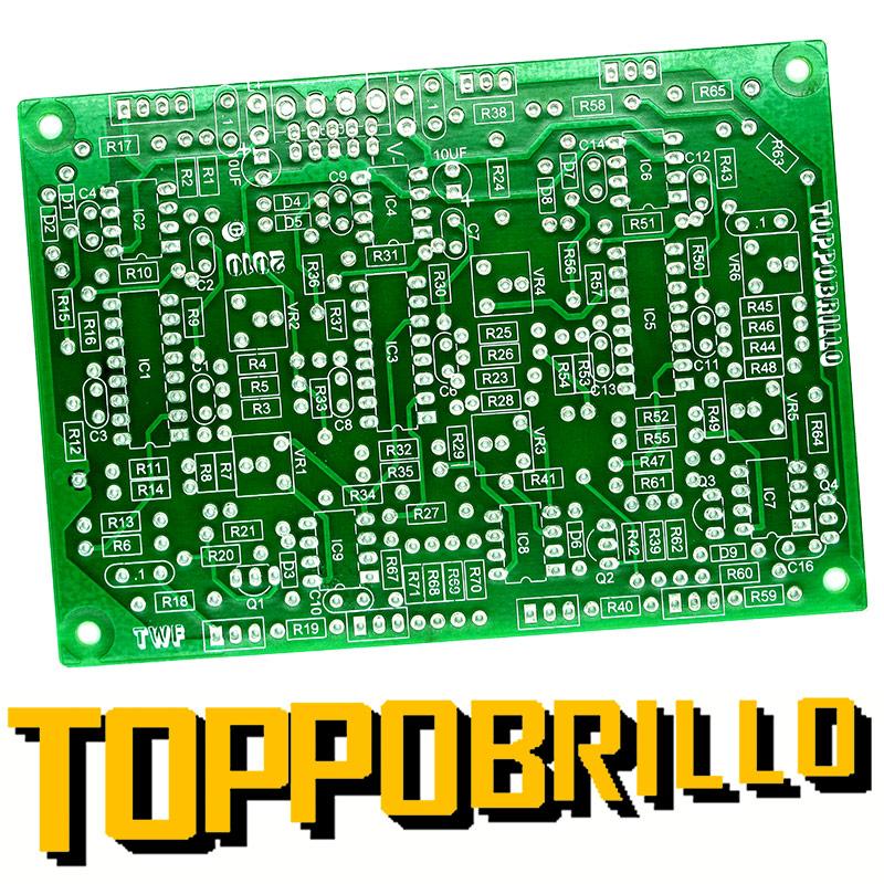 Toppobrillo PCBs - Buchla 281 clone & Triple Wavefolder