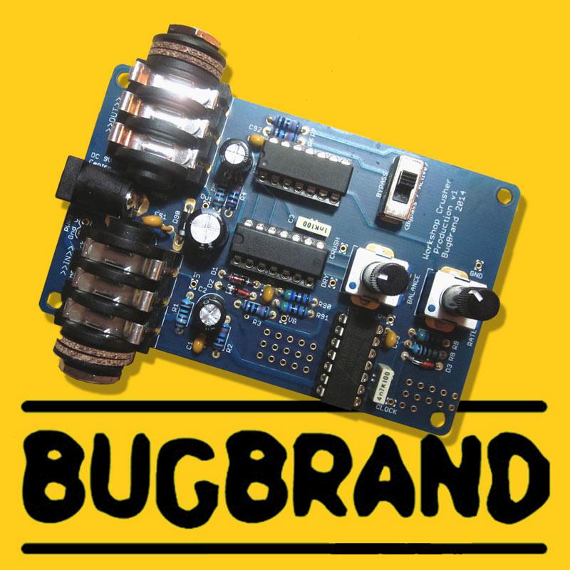 Bugbrand workshopcrusher thonk diy synthesizer kits components bugbrand workshopcrusher solutioingenieria Gallery