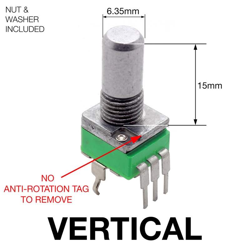 Product_Vertical alpha 9mm pots vertical thonk diy synthesizer kits & components  at reclaimingppi.co