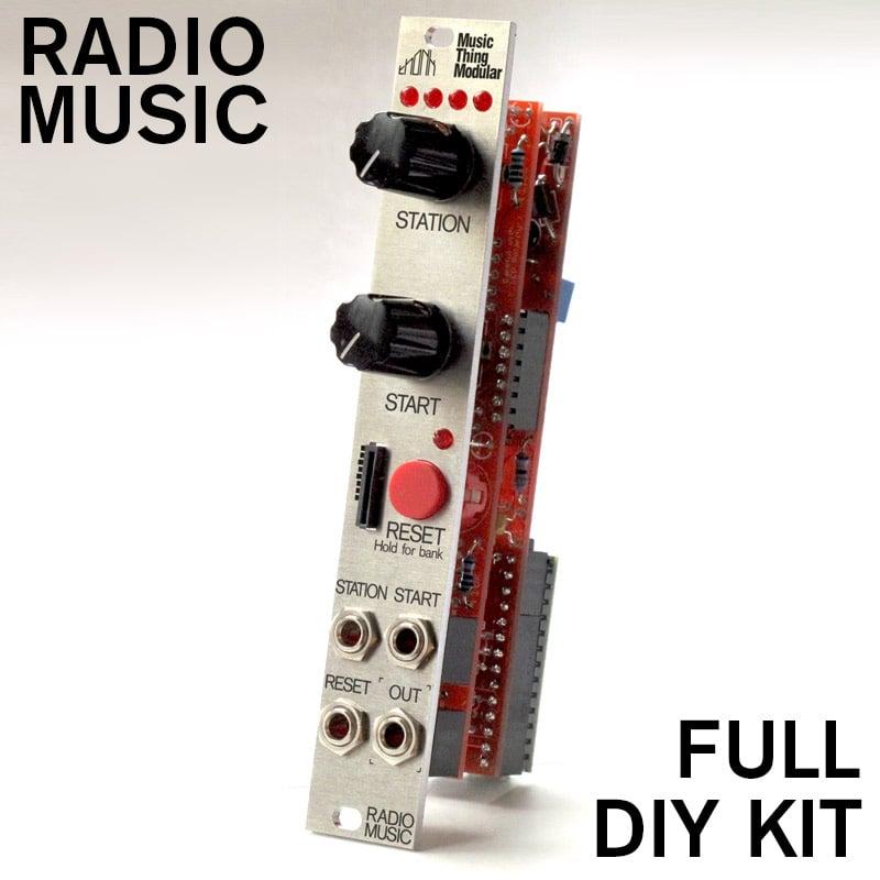 music thing modular radio music full diy kit thonk diy synthesizer kits components. Black Bedroom Furniture Sets. Home Design Ideas