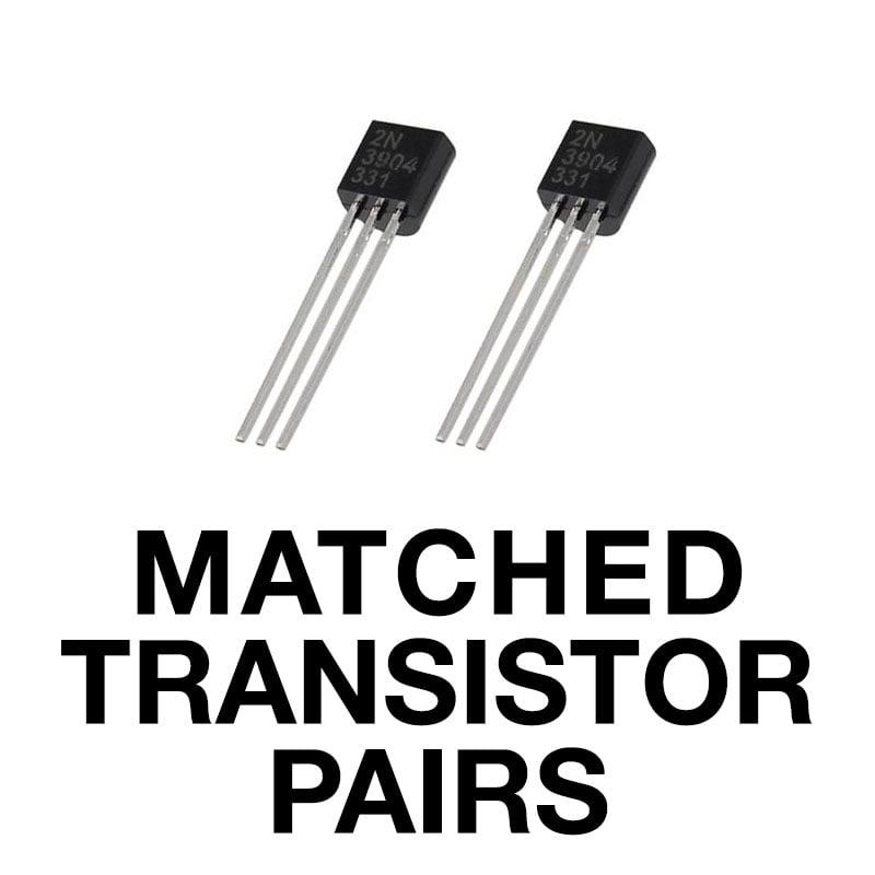 Matched Transistor Pairs Thonk Diy Synthesizer Kits