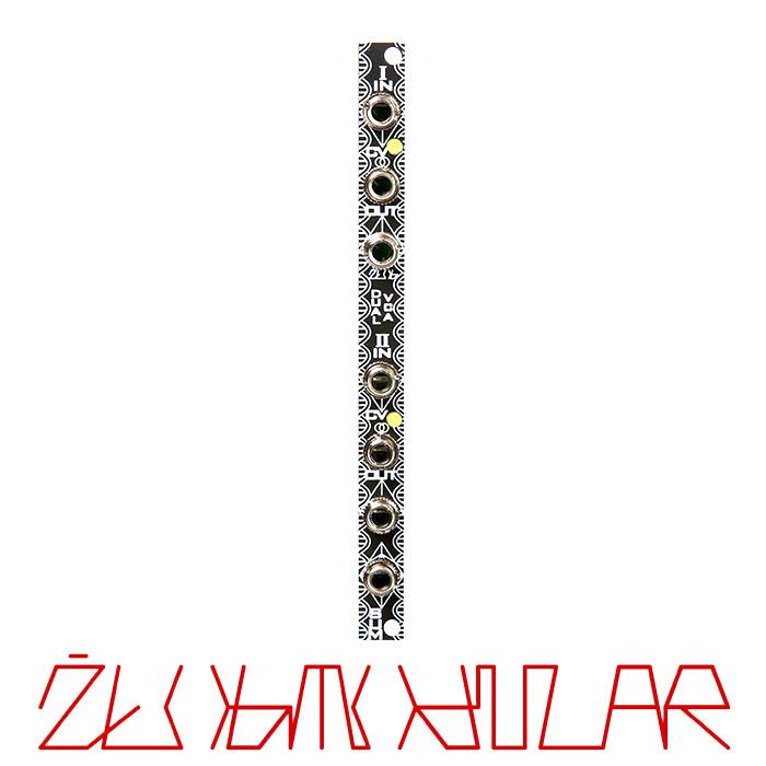 Zlob Modular - Dual VCA Panel / PCB Set