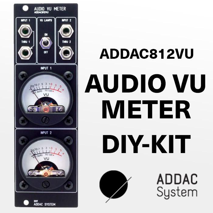 ADDAC812VU VU Audio Meter Full DIY Kit