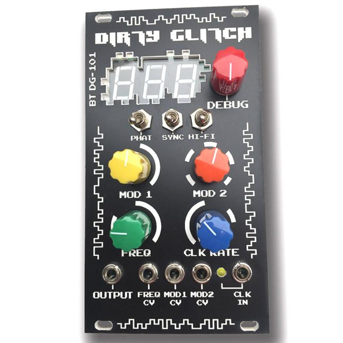 Beast-Tek - Dirty Glitch VCO - Full DIY Kit