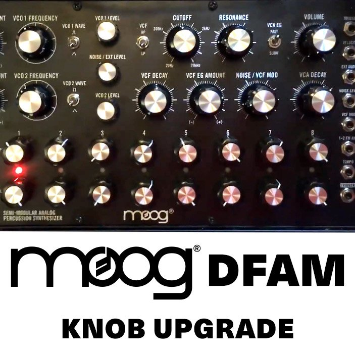 Moog DFAM Knob Upgrade