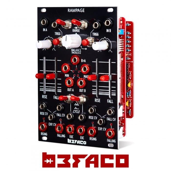 assembled Befaco Burst Pingable Trigger Burst Generator Module