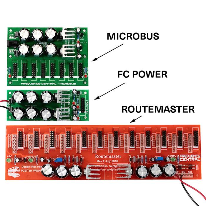 FULL KIT Eurorack DIY Frequency Central FC Power Supply Doepfer
